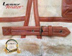 Lessy Aviator Bomber B3 Jacket Leather