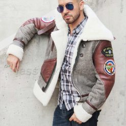 bomber-B3-jacket-lessy-aviator-gray+brown-01