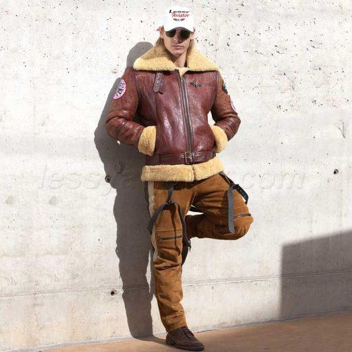 jacket-B3-bomber-lessy-aviator-brown-10
